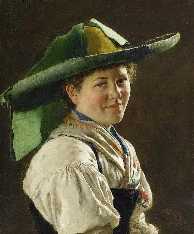 淳朴的生活,德国画家埃米尔·卡尔·劳插图29