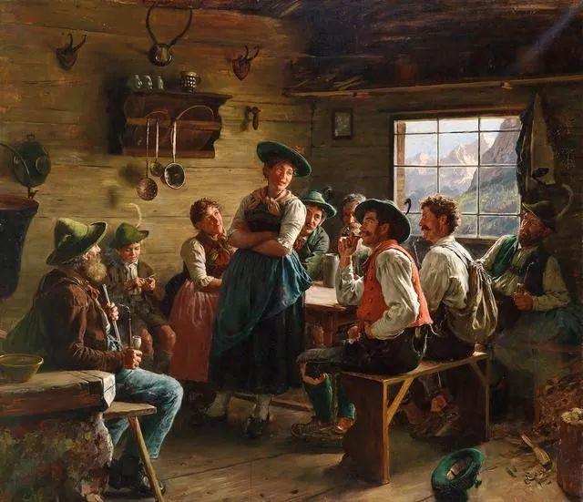 淳朴的生活,德国画家埃米尔·卡尔·劳插图45