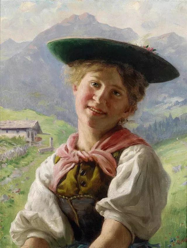 淳朴的生活,德国画家埃米尔·卡尔·劳插图59