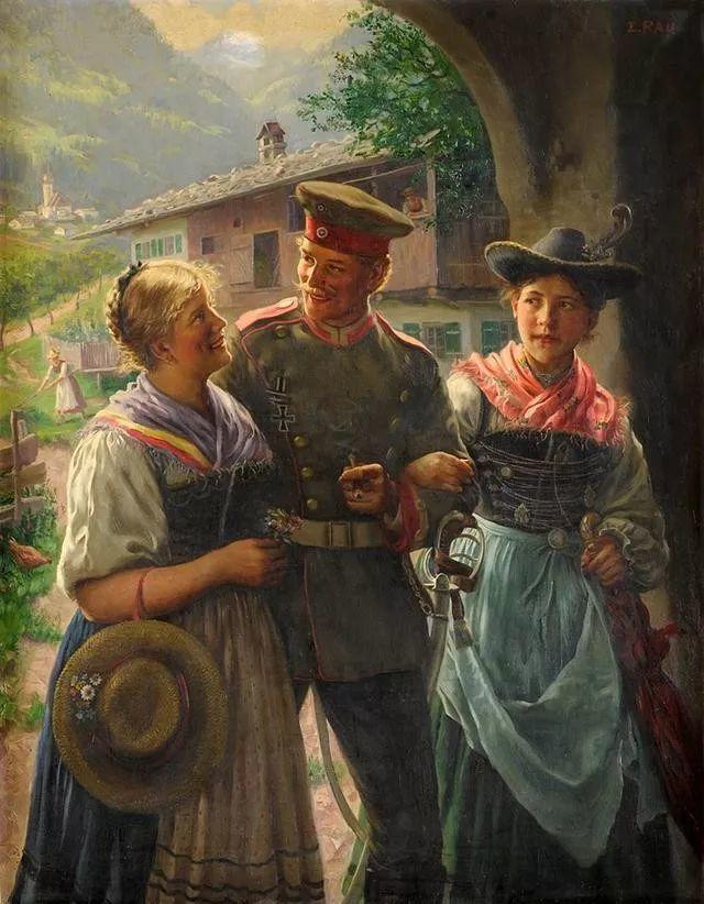 淳朴的生活,德国画家埃米尔·卡尔·劳插图61