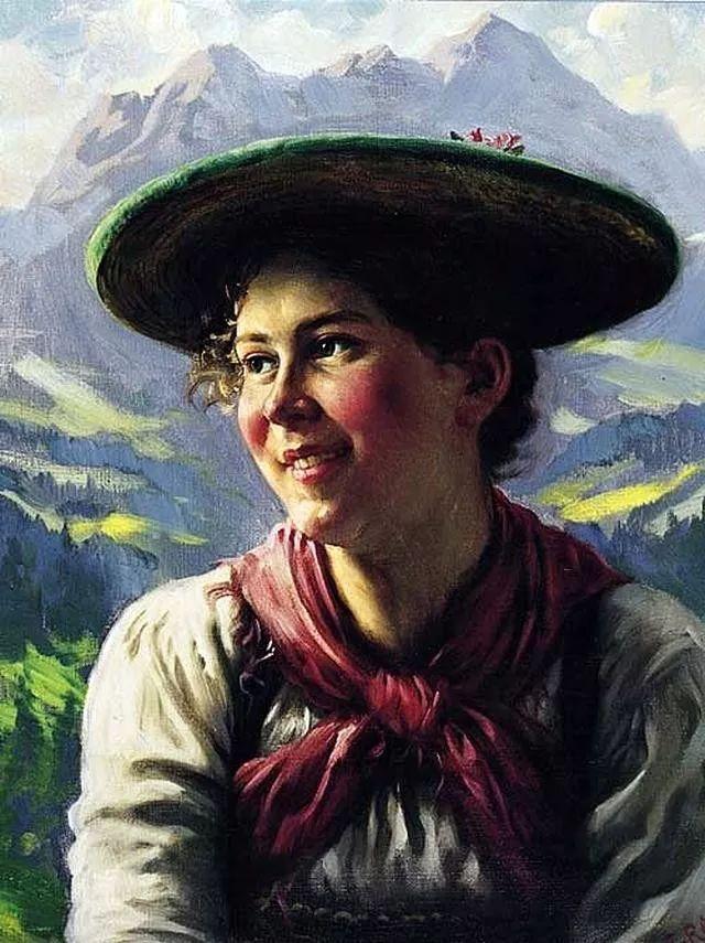 淳朴的生活,德国画家埃米尔·卡尔·劳插图63