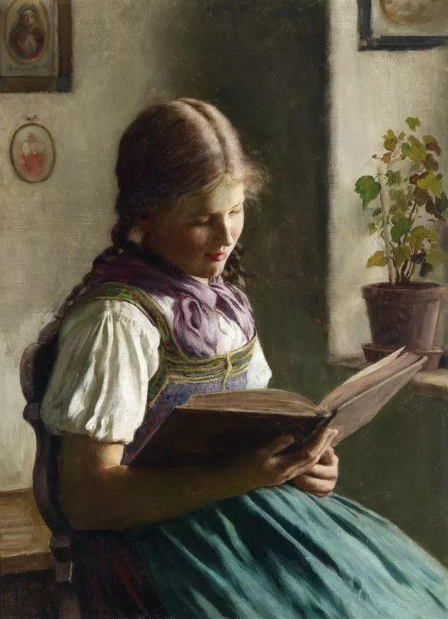 淳朴的生活,德国画家埃米尔·卡尔·劳插图71