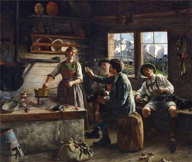 淳朴的生活,德国画家埃米尔·卡尔·劳插图85