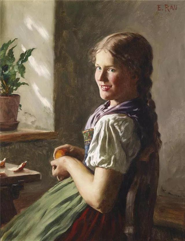 淳朴的生活,德国画家埃米尔·卡尔·劳插图87