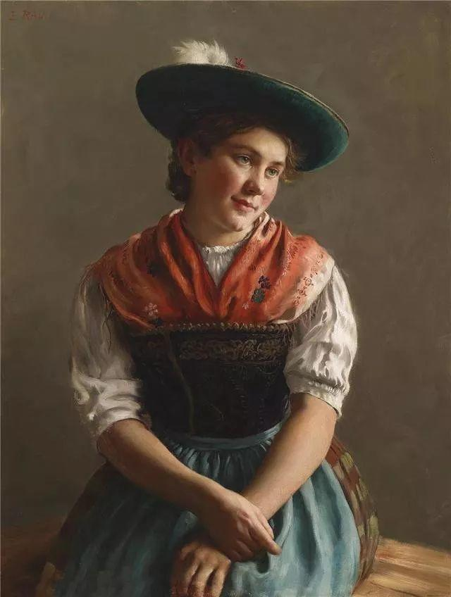 淳朴的生活,德国画家埃米尔·卡尔·劳插图91