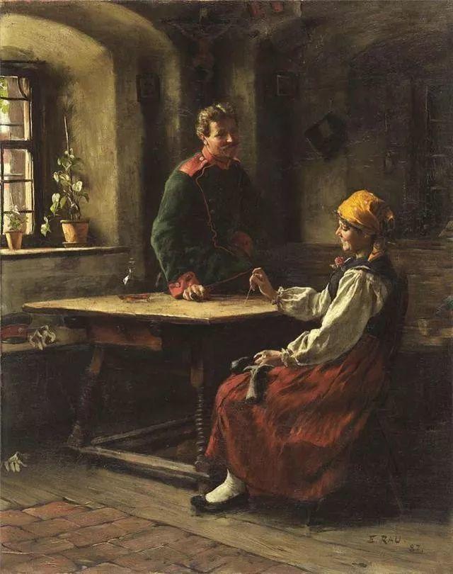 淳朴的生活,德国画家埃米尔·卡尔·劳插图103