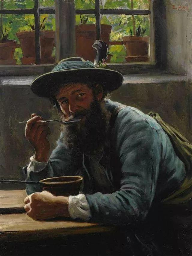 淳朴的生活,德国画家埃米尔·卡尔·劳插图107