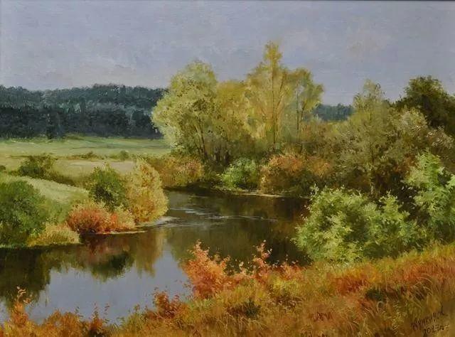 风景篇,俄罗斯画家Alexei Anikin插图1