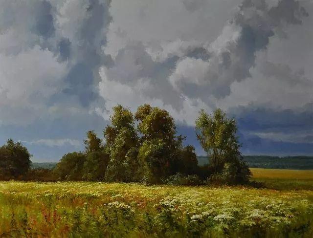 风景篇,俄罗斯画家Alexei Anikin插图3
