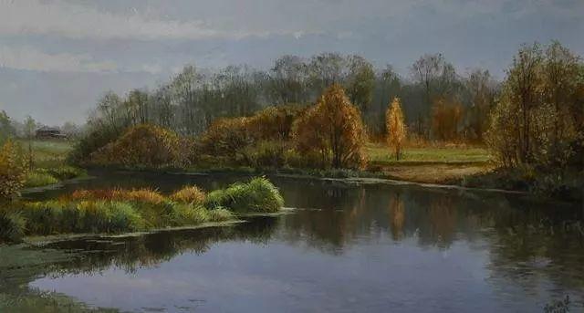 风景篇,俄罗斯画家Alexei Anikin插图5