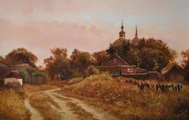 风景篇,俄罗斯画家Alexei Anikin插图7