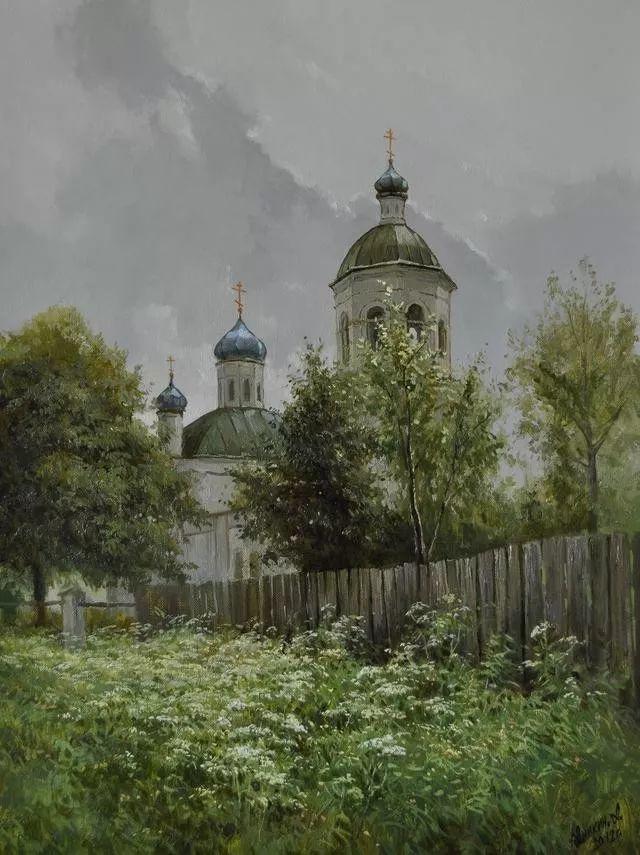 风景篇,俄罗斯画家Alexei Anikin插图9