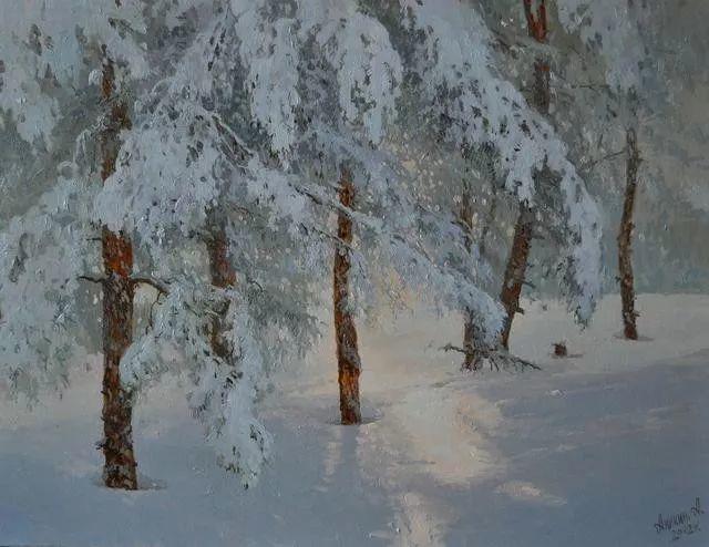 风景篇,俄罗斯画家Alexei Anikin插图13