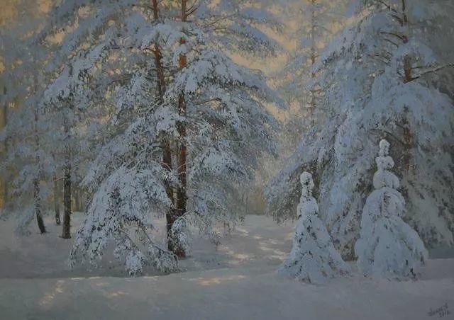 风景篇,俄罗斯画家Alexei Anikin插图17
