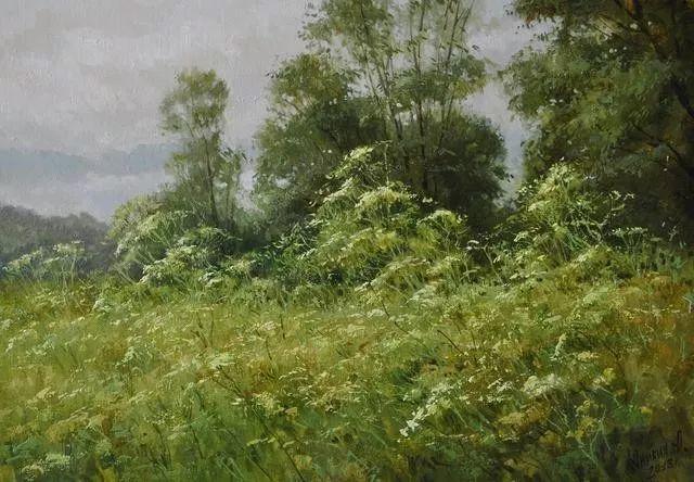 风景篇,俄罗斯画家Alexei Anikin插图19