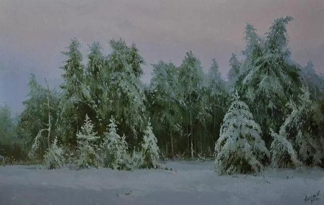 风景篇,俄罗斯画家Alexei Anikin插图29
