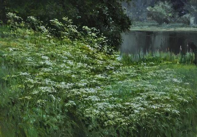 风景篇,俄罗斯画家Alexei Anikin插图31