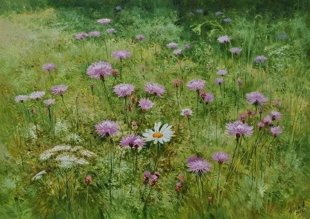 风景篇,俄罗斯画家Alexei Anikin插图35
