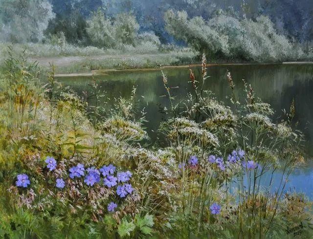 风景篇,俄罗斯画家Alexei Anikin插图39