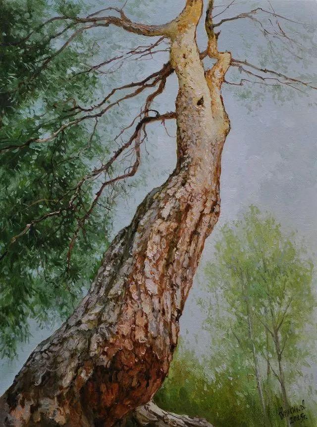 风景篇,俄罗斯画家Alexei Anikin插图45