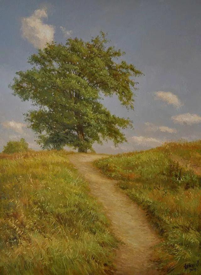 风景篇,俄罗斯画家Alexei Anikin插图47