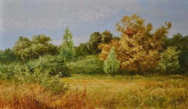 风景篇,俄罗斯画家Alexei Anikin插图57