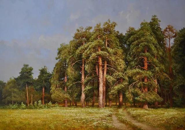 风景篇,俄罗斯画家Alexei Anikin插图59