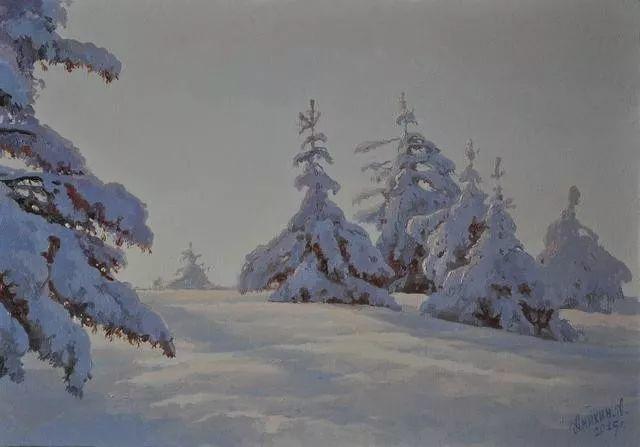 风景篇,俄罗斯画家Alexei Anikin插图61