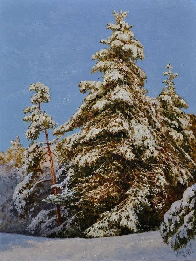 风景篇,俄罗斯画家Alexei Anikin插图63