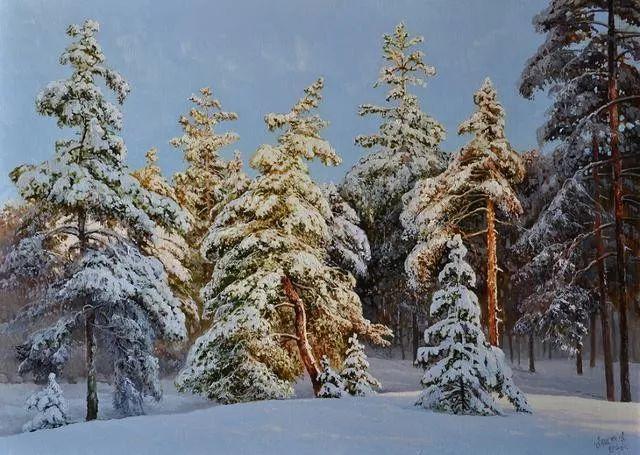 风景篇,俄罗斯画家Alexei Anikin插图65