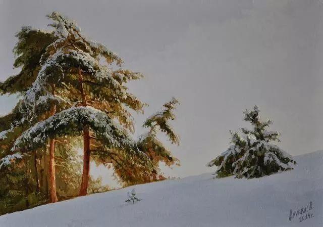 风景篇,俄罗斯画家Alexei Anikin插图67