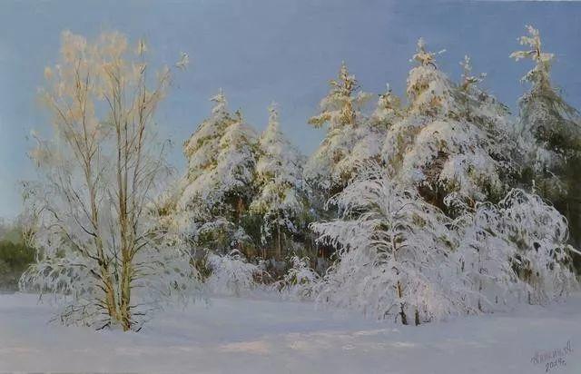 风景篇,俄罗斯画家Alexei Anikin插图69
