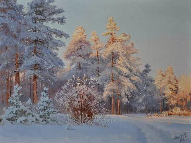 风景篇,俄罗斯画家Alexei Anikin插图71