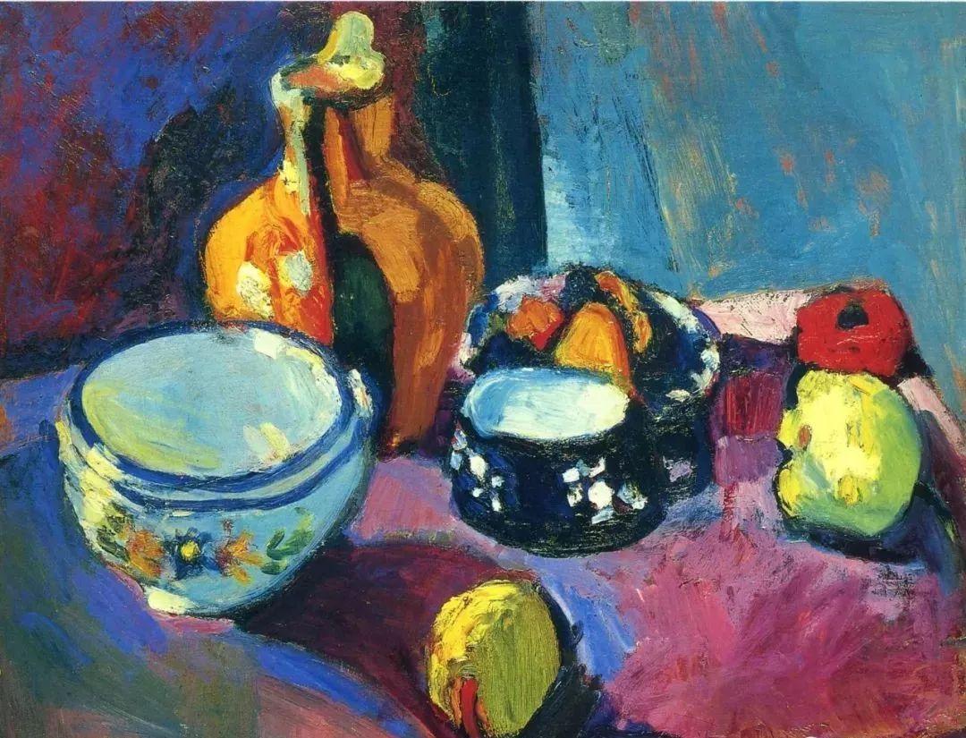 与毕加索并称为20世纪世界美术的两座高峰!马蒂斯静物作品集,震撼出炉!插图
