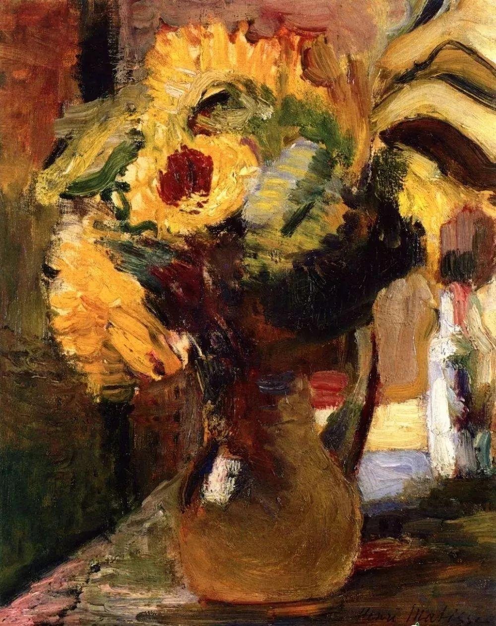 与毕加索并称为20世纪世界美术的两座高峰!马蒂斯静物作品集,震撼出炉!插图10