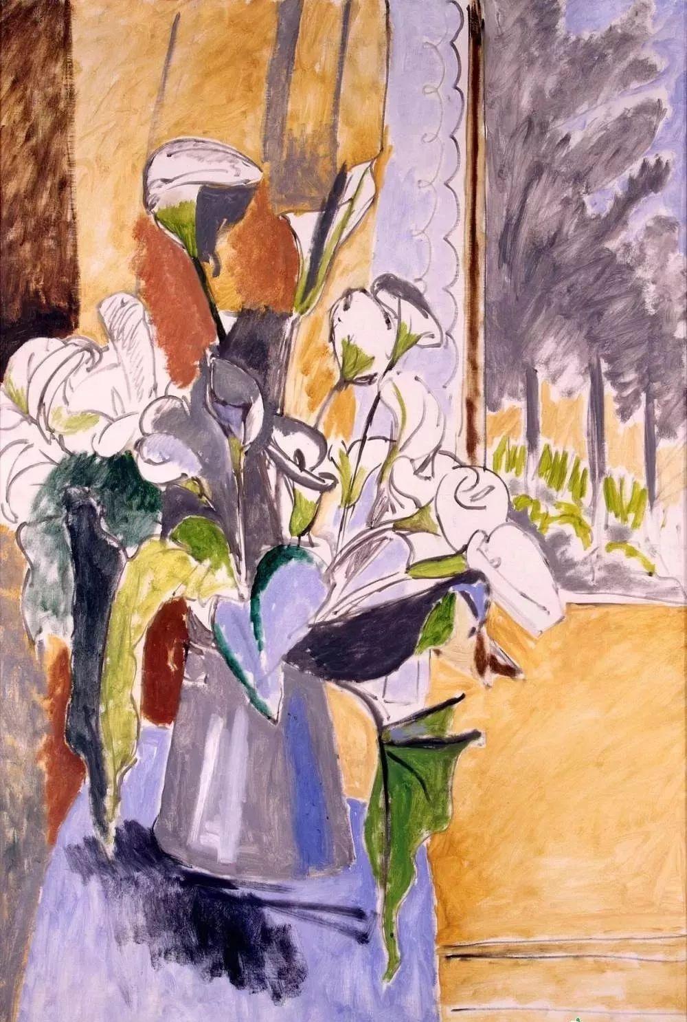 与毕加索并称为20世纪世界美术的两座高峰!马蒂斯静物作品集,震撼出炉!插图13