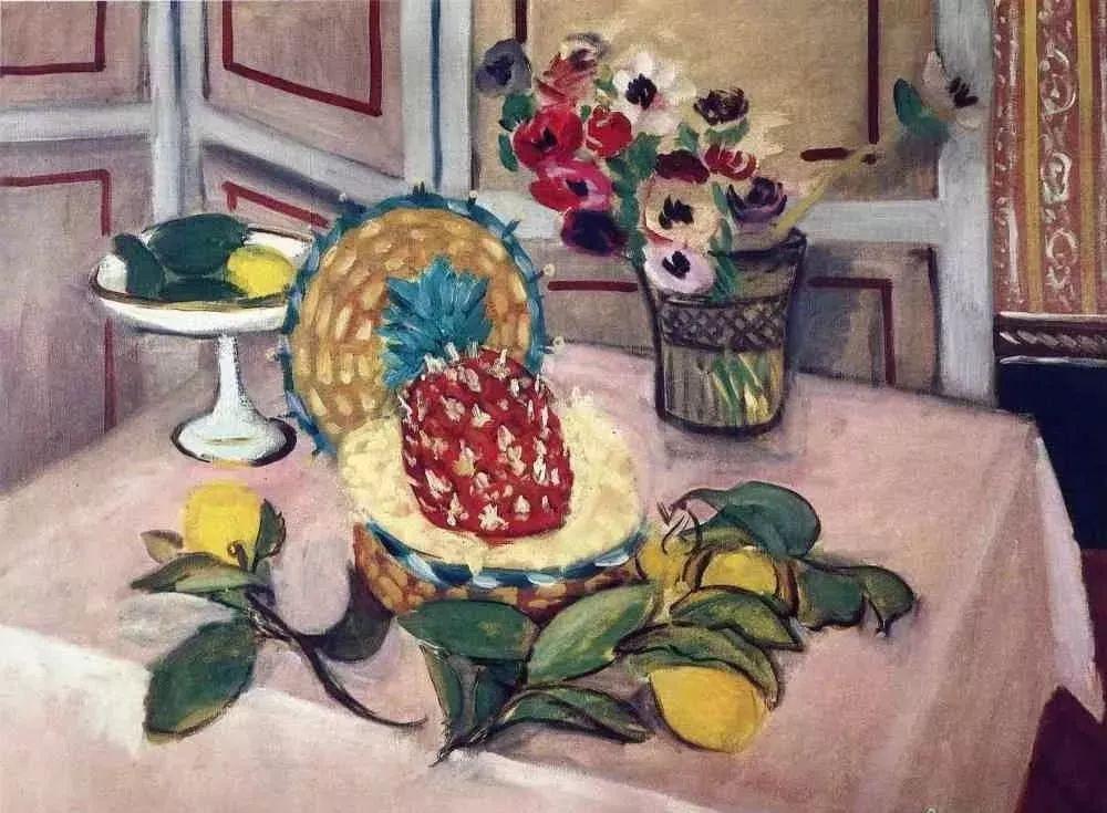 与毕加索并称为20世纪世界美术的两座高峰!马蒂斯静物作品集,震撼出炉!插图16