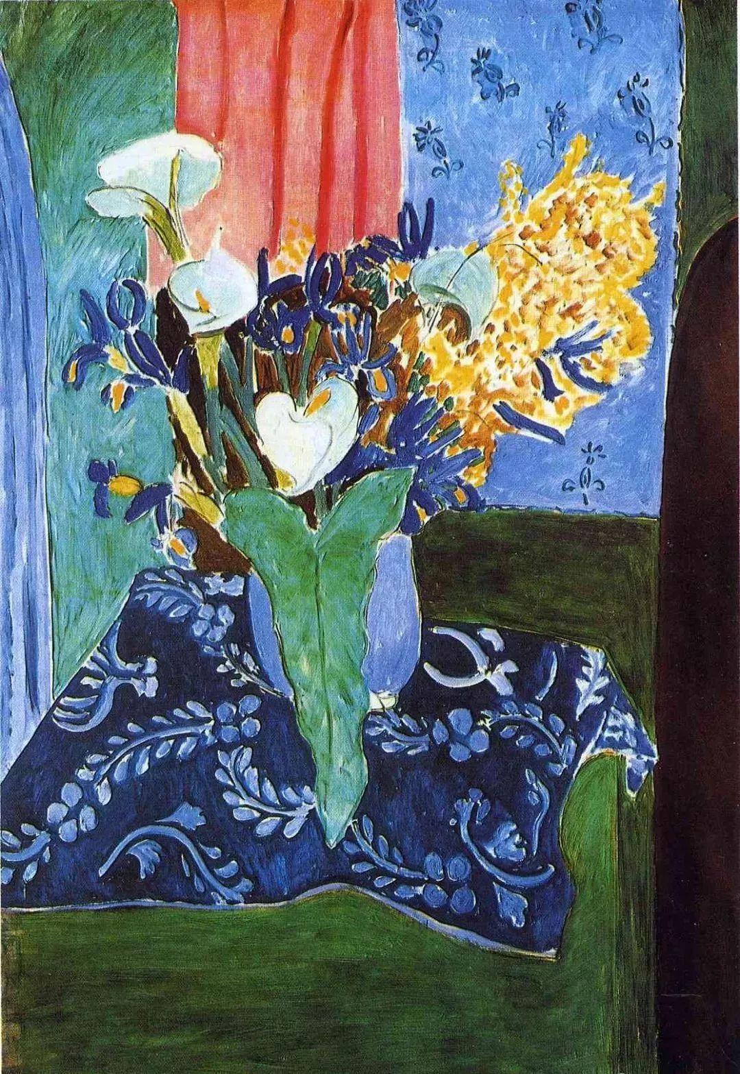 与毕加索并称为20世纪世界美术的两座高峰!马蒂斯静物作品集,震撼出炉!插图39