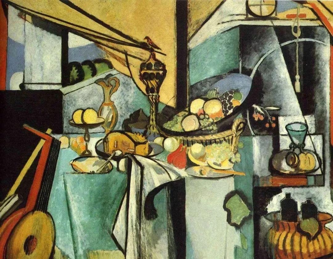 与毕加索并称为20世纪世界美术的两座高峰!马蒂斯静物作品集,震撼出炉!插图42