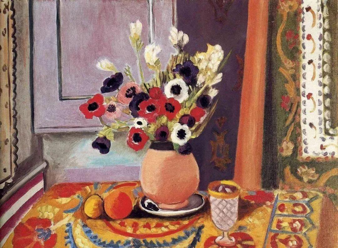 与毕加索并称为20世纪世界美术的两座高峰!马蒂斯静物作品集,震撼出炉!插图53