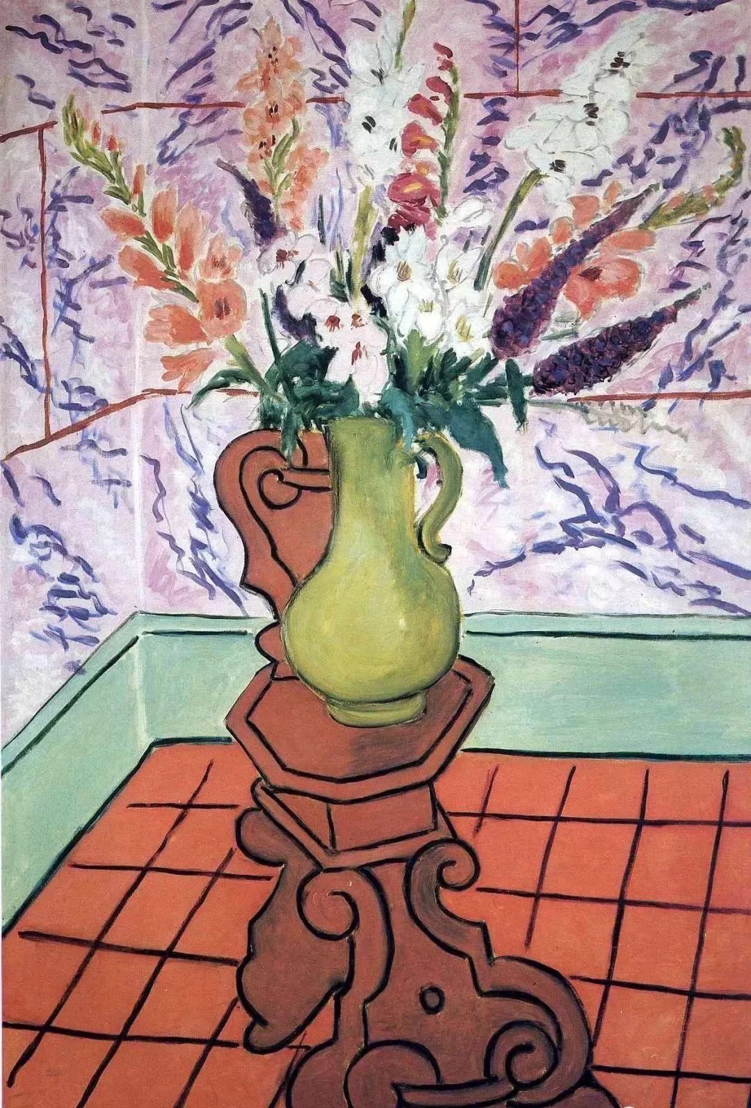 与毕加索并称为20世纪世界美术的两座高峰!马蒂斯静物作品集,震撼出炉!插图58