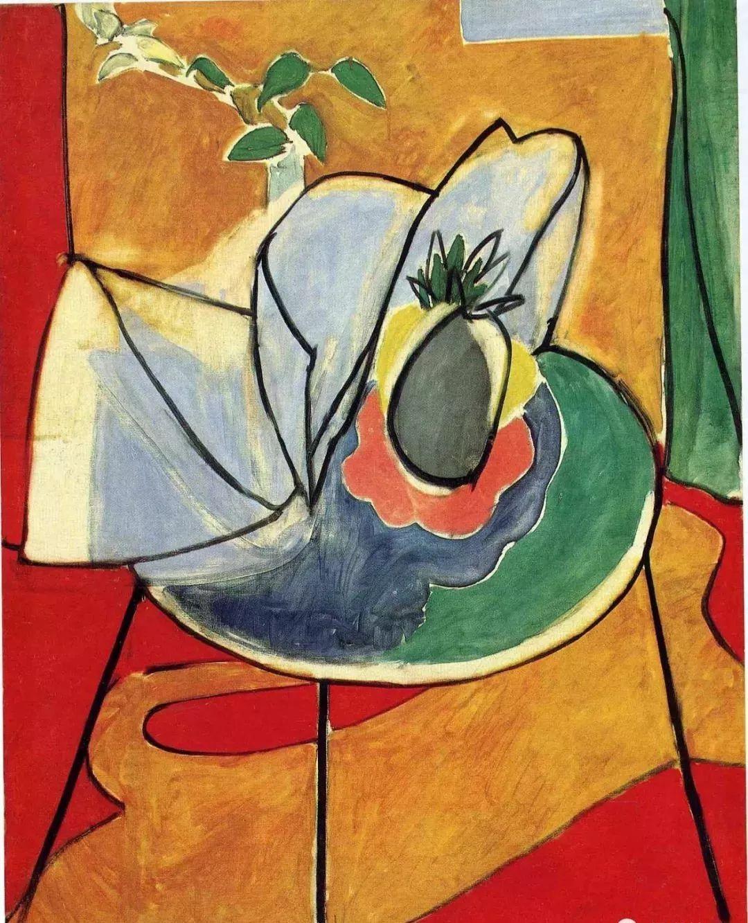 与毕加索并称为20世纪世界美术的两座高峰!马蒂斯静物作品集,震撼出炉!插图59