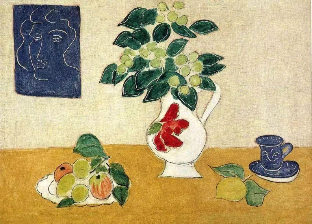 与毕加索并称为20世纪世界美术的两座高峰!马蒂斯静物作品集,震撼出炉!插图61