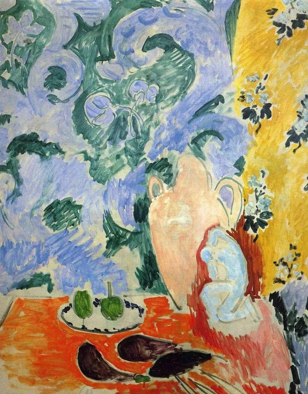 与毕加索并称为20世纪世界美术的两座高峰!马蒂斯静物作品集,震撼出炉!插图68