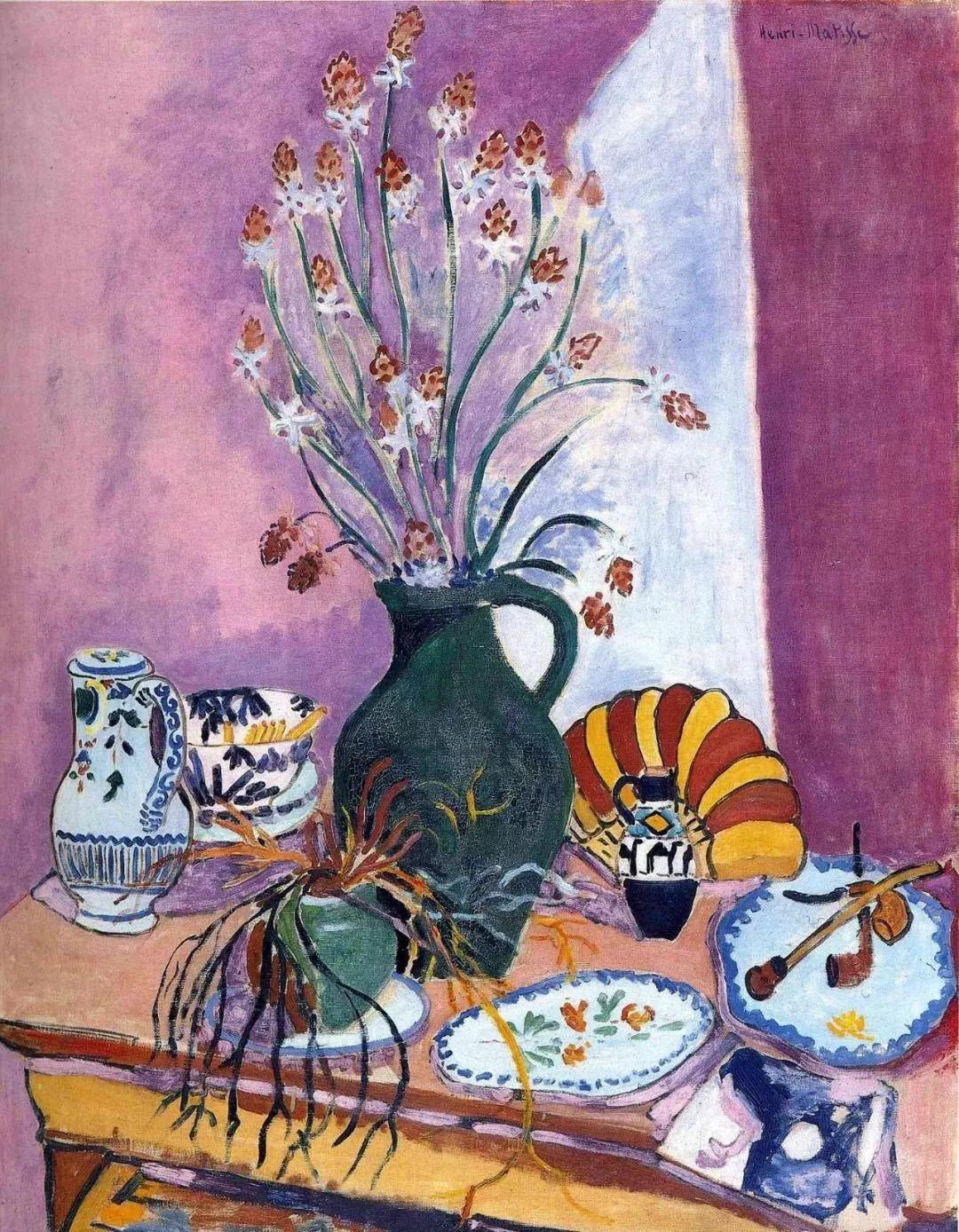 与毕加索并称为20世纪世界美术的两座高峰!马蒂斯静物作品集,震撼出炉!插图70