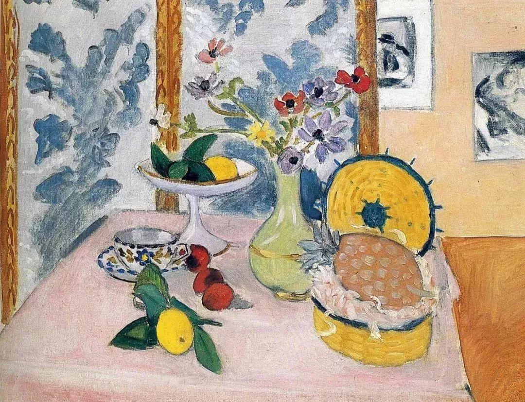 与毕加索并称为20世纪世界美术的两座高峰!马蒂斯静物作品集,震撼出炉!插图71
