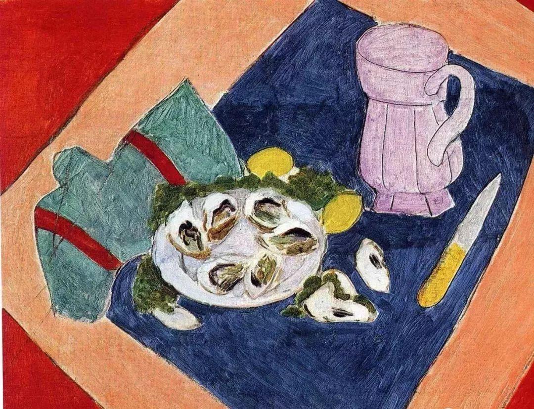 与毕加索并称为20世纪世界美术的两座高峰!马蒂斯静物作品集,震撼出炉!插图72