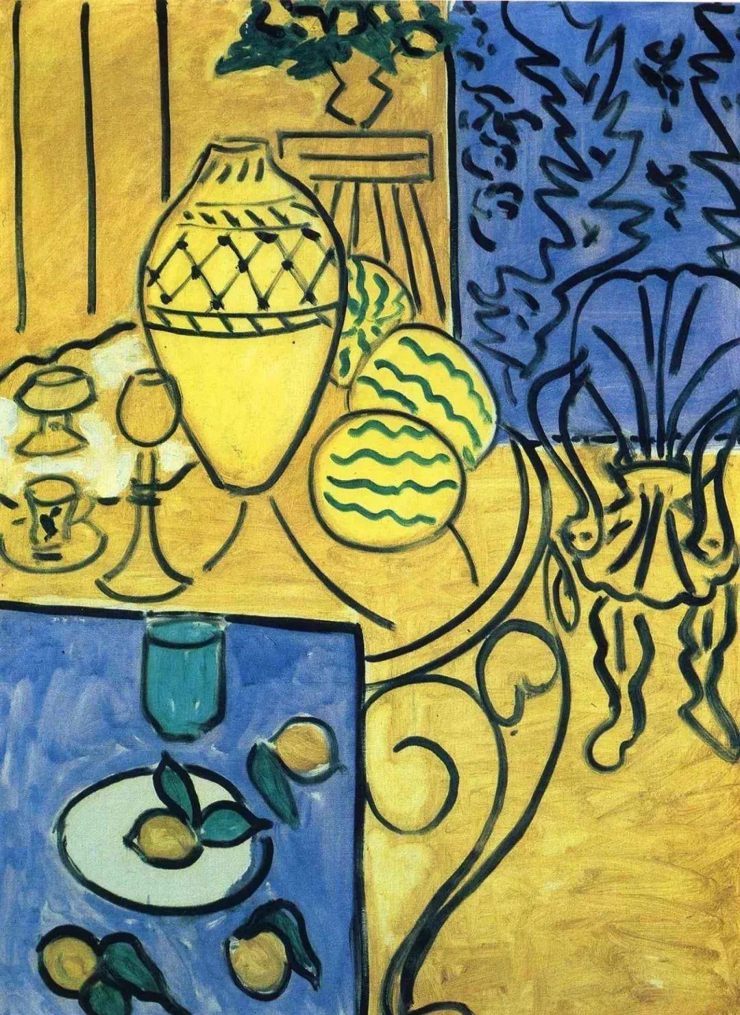 与毕加索并称为20世纪世界美术的两座高峰!马蒂斯静物作品集,震撼出炉!插图73