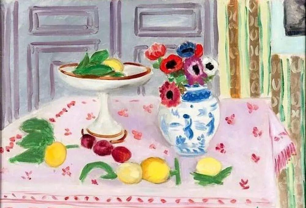 与毕加索并称为20世纪世界美术的两座高峰!马蒂斯静物作品集,震撼出炉!插图76