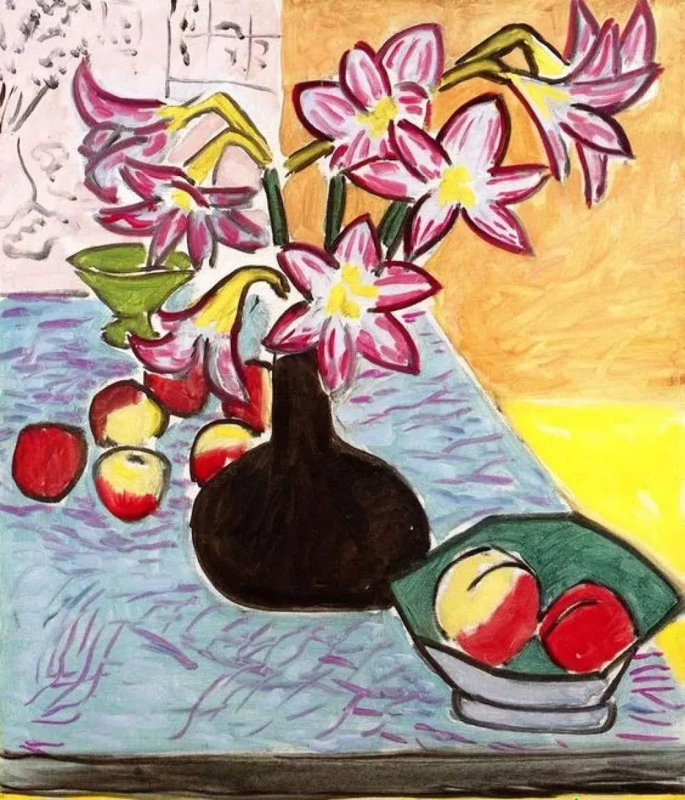与毕加索并称为20世纪世界美术的两座高峰!马蒂斯静物作品集,震撼出炉!插图77